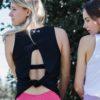 Top Open Back – Zwart – Woman Nutrition
