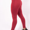 Red legging details woman nutrition
