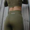 Seemless High Waist Legging Olive – Woman Nutrition