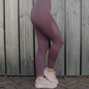 Seemless Legging Paars - Woman Nutrition