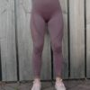 Seemless Legging Paars – Woman Nutrition