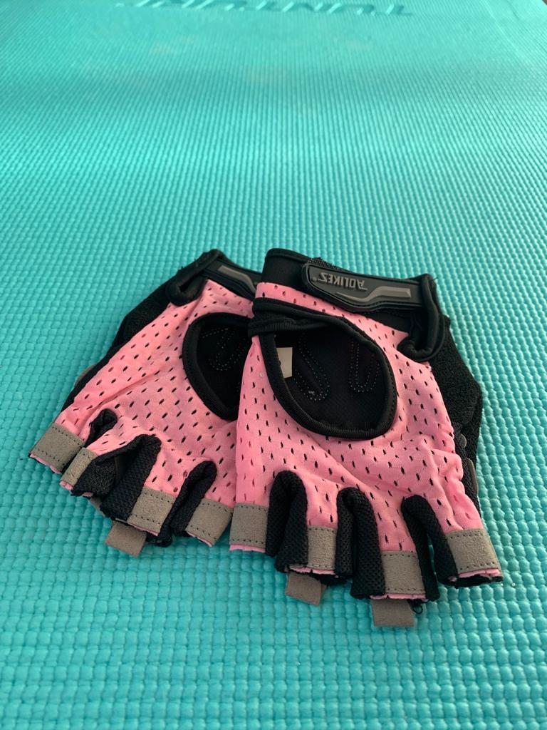 fitnesshandschoentjes roze woman nutrition