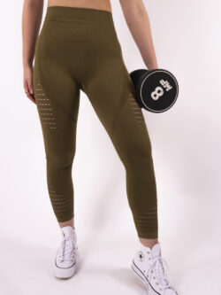 olive legging details woman nutrition