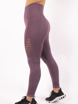 purple legging high-waist