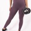 purple legging seemless high-waist