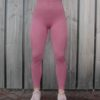 Seemless legging oud-roze – Woman Nutrition