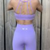 sportset pastel paars/lila woman nutrition