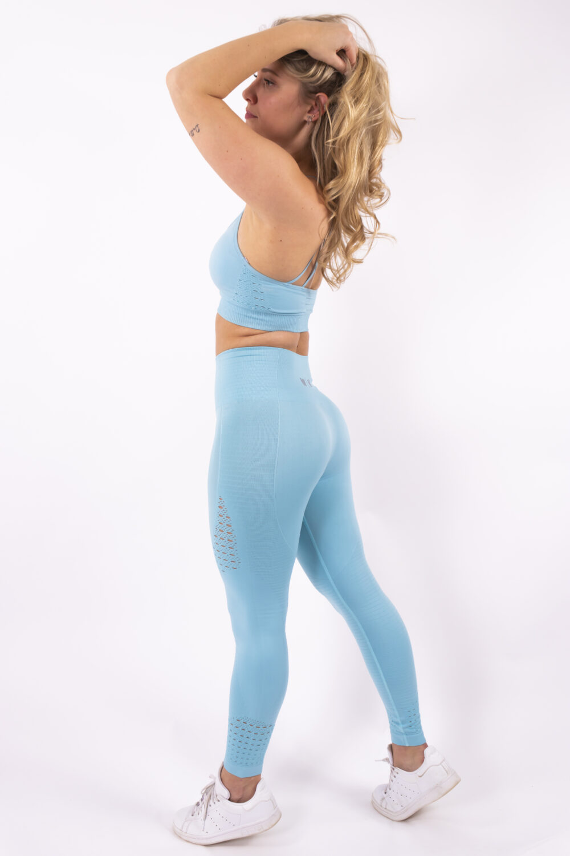 light blue set woman nutrition