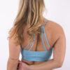 light blue sportbh woman nutrition