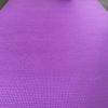 woman nutrition yoga mat paars