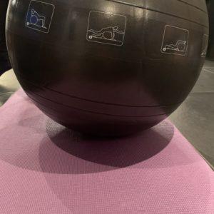 fitnessbal woman nutrition