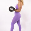lilac sportset woman nutrition