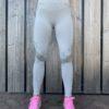 grijs seemless high waist woman nutrition