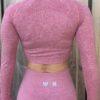 roze longsleeve top woman nutrition