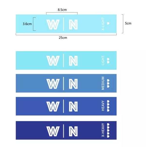resistance bands - blauw