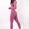 pink long sleeve set woman nutrition