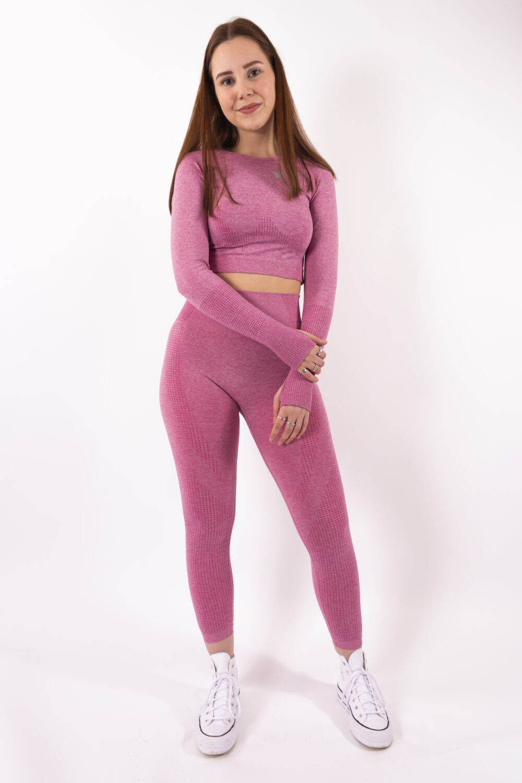 pink set long sleeve woman nutrition