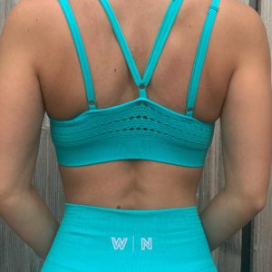turquoise top woman nutrition