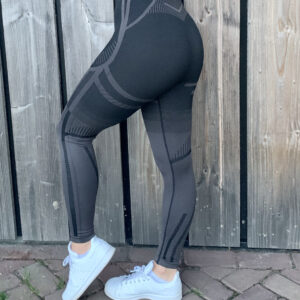 a/w zwarte sportlegging woman nutrition