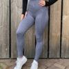 Blauwgrijze sportlegging Woman Nutrition