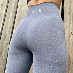 Blauwgrijze sportlegging Woman Nutrition