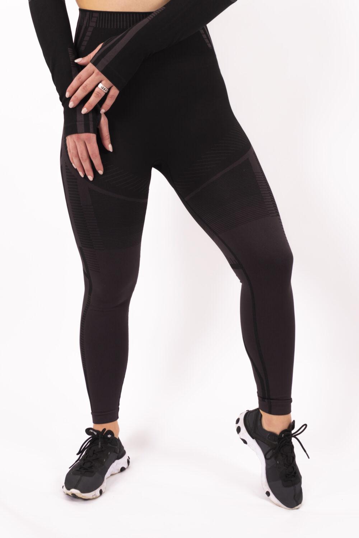 a/w black legging woman nutrition