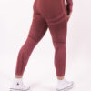 a/w pink seamless high-waist sportlegging woman nutrition