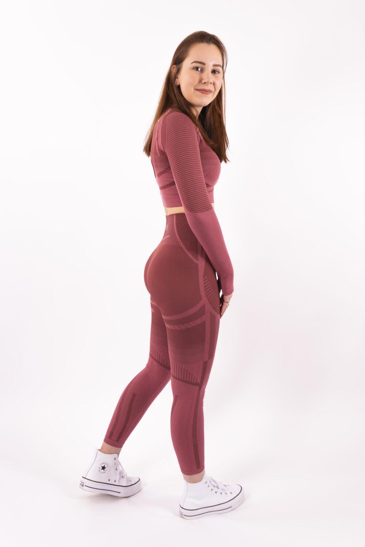 a/w pink set woman nutrition
