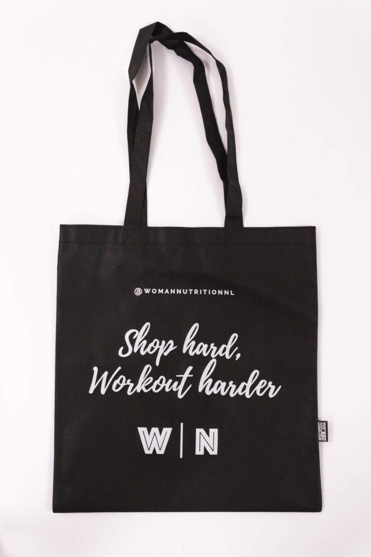 black bag woman nutrition