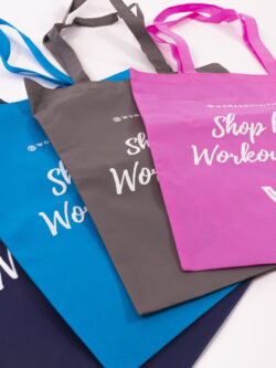 woman nutrition bags