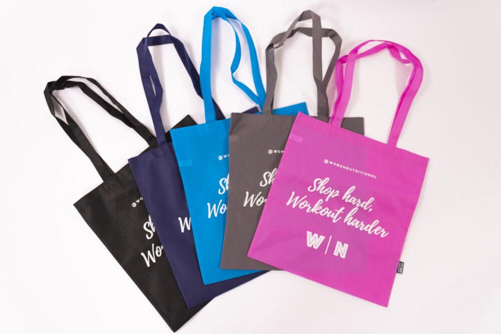 woman nutrition sport bags