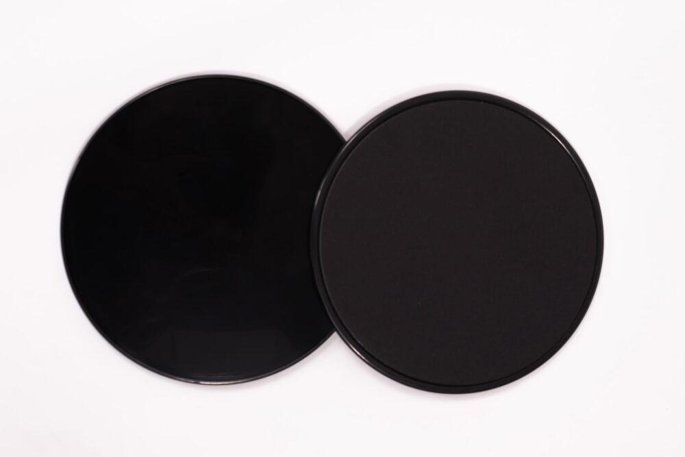 sliding pads black