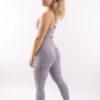 camo lichtgrijze sportlegging woman nutrition